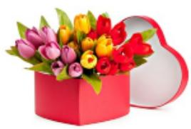 Новинка!!!! Тюльпаны в коробочке!!